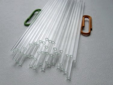Glass Capillary Tubes lot of 50pcs New  * Length  90 mm * Outside Diameter  2 mm