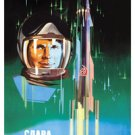 Space will be ours! Long live to the First Astronaut Yu. A. Gagarin!  1961