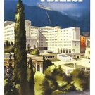 Welcome to the USSR. Soviet Travel Postcard. Tbilisi. PROPAGANDA 1941
