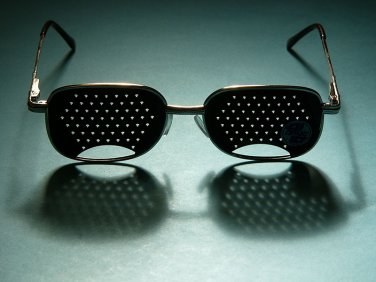 Perforating GLASSES for RELAX & Training EYE Fyodorov / Fedorov / Fiodorov / NEW