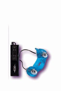 Vibrator Blue Dolphin Vibe Massager NEW