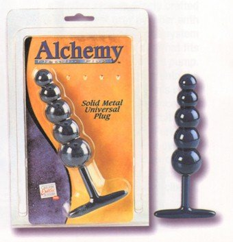 Medical Metal Alchemy Graduated Massager Plug NEW