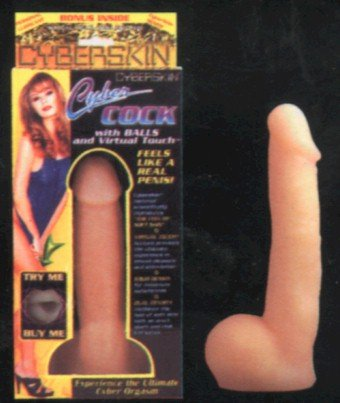 Cyberskin Cock beige