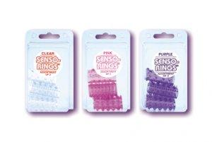 Senso Rings - 3 Pack - Purple