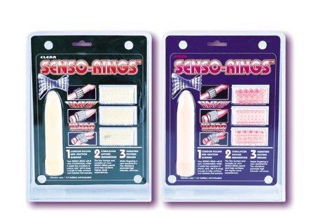 Senso Rings with Mini-vibrator -Pink