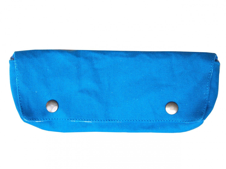 TonTubTim Pencil/ makeup brush case: Blue