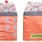 TonTubTim Home Sweet Home Key Holder / Key Fob (size L): Orange