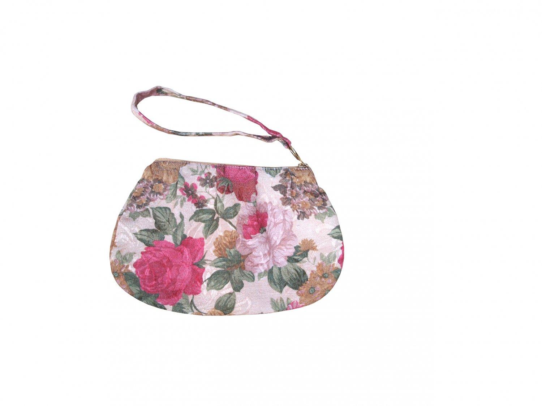 TonTubTim Zip Pouch / Accessories Bag : Light Pink / Cream lining