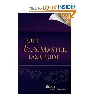 U.S. Master Tax Guide (2011) [Paperback]