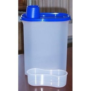 Tupperware Modular Measure Mates Container Blue