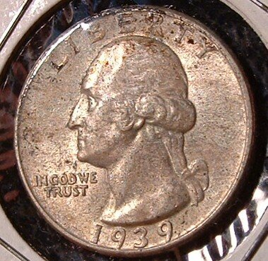 1939-P Washington Quarter * GEM UNCIRCULATED * scarce!!