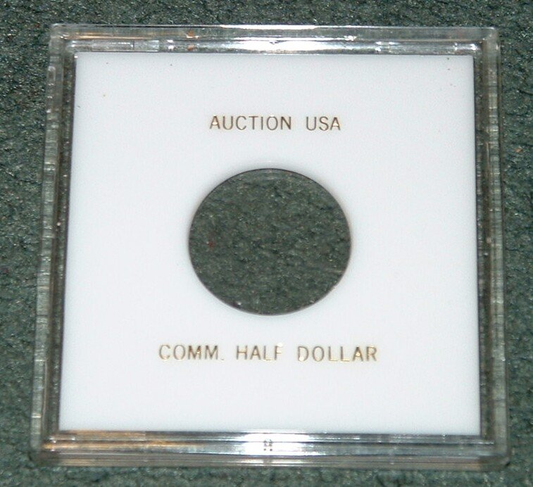 BIG Capitol Plastics snaplock 50 CENT Holders (X5) - for Commemoratives