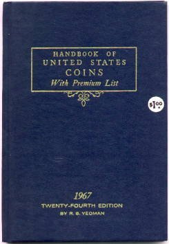 Yeomans BLUE BOOK - 1967 Edition - MINT