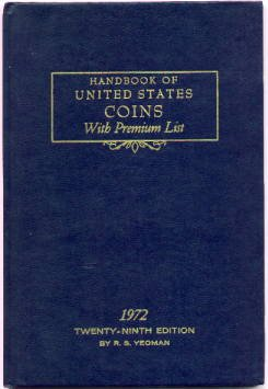 Yeomans BLUE BOOK - 1972 Edition - MINT