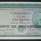 MOZAMBIQUE 100 Escudos -- 1961 -- CU -- P109A