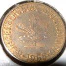 GERMANY 1966-J 5 Pfennig -- KM 107 -- UNCIRCULATED