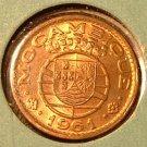MOZAMBIQUE 1961 20 Centavos - KM85 - UNC RED Portugal