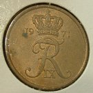 DENMARK 1971 5 ORE -- KM848.1 -- UNCIRCULATED