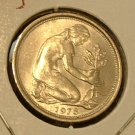 GERMANY 1978-D 50 Pfennig -- KM 109.2 -- UNC