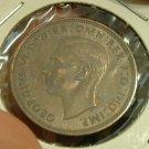 GREAT BRITAIN 1941 Half Penny -- KM844 -- AU