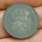 BELGIUM 1942 1 Franc -- KM127 -- XF -- WWII issue