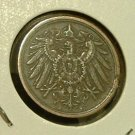 GERMANY 1906-A 2 Pfennig -- XF