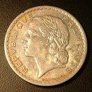 FRANCE 1947-A 5 Francs -- KM888a.2 -- lusterous AU!