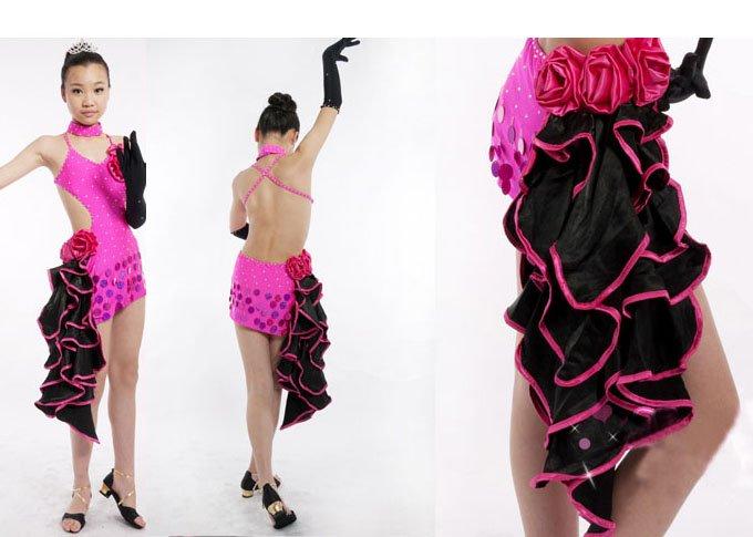 latin dress ballroom dress dance dress style 36