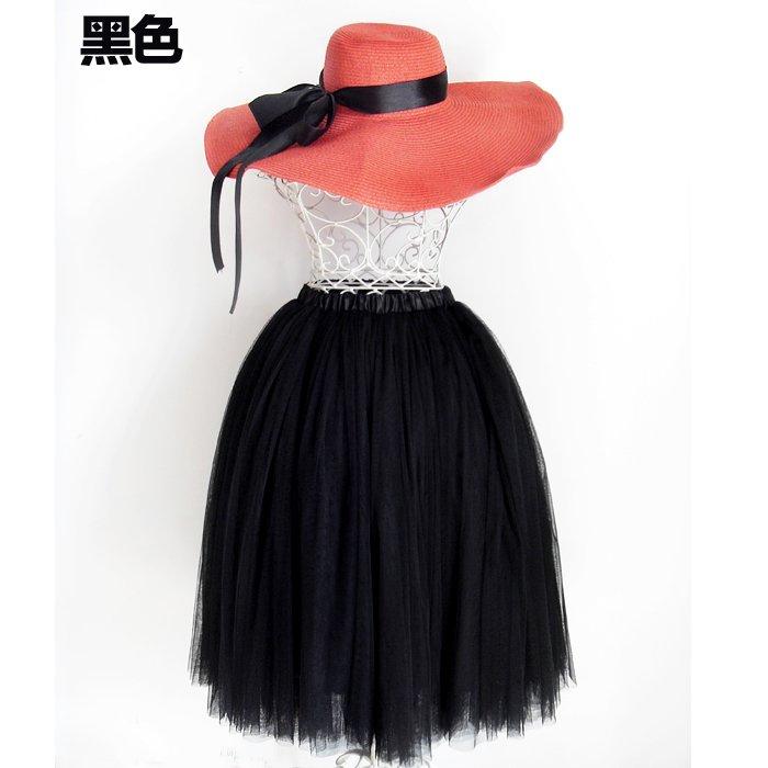 LUXURY BALLET TUTU DANCE FANCY SKIRT black