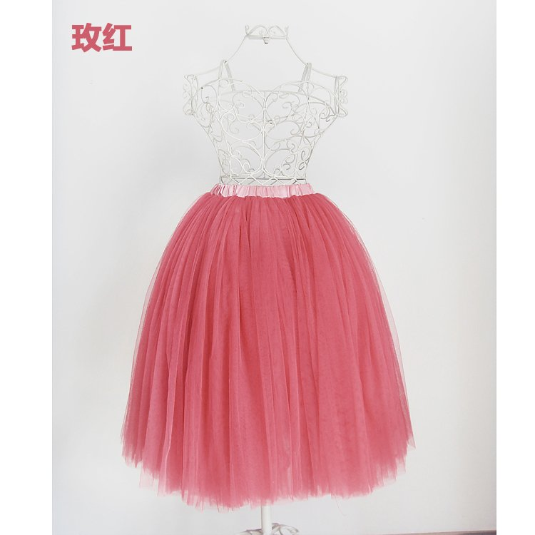 LUXURY BALLET TUTU DANCE FANCY SKIRT pink
