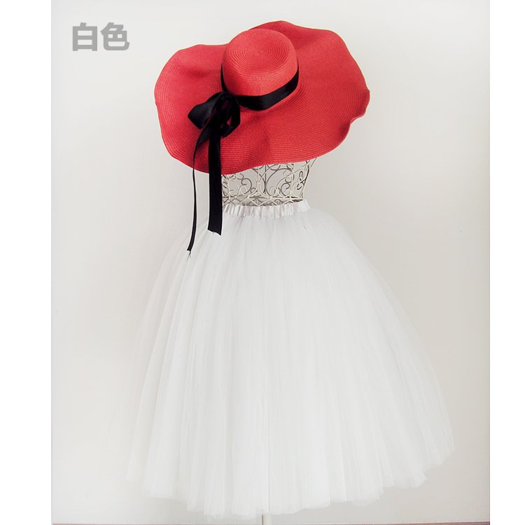 LUXURY BALLET TUTU DANCE FANCY SKIRT white