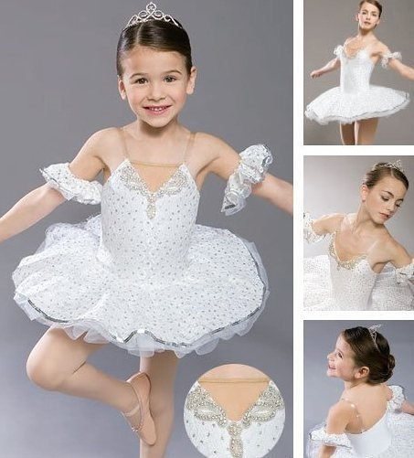 Girl BALLET TUTU DANCE DRESS PARTY DRESS style 1
