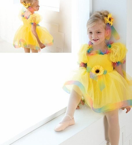 Girl BALLET TUTU DANCE DRESS PARTY DRESS style11
