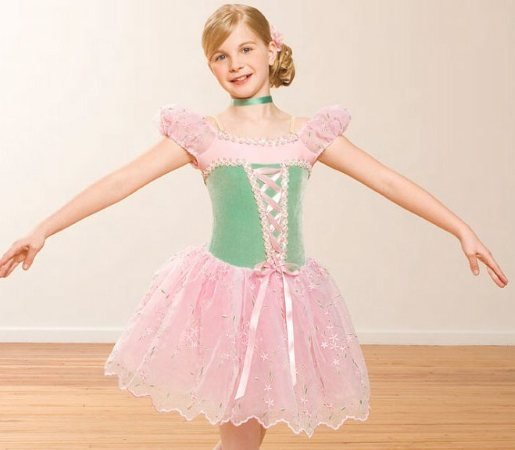 Girl BALLET TUTU DANCE DRESS PARTY DRESS style18