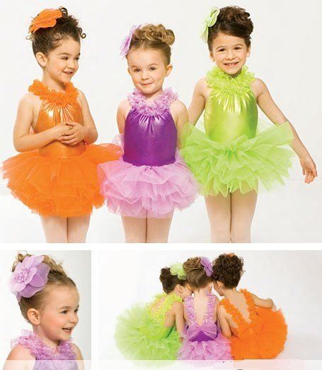Girl BALLET TUTU DANCE DRESS PARTY DRESS style26