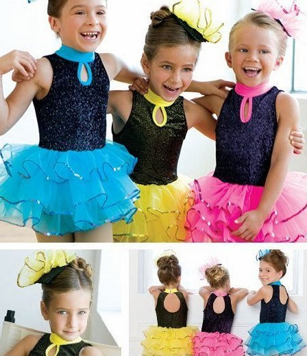 Girl BALLET TUTU DANCE DRESS PARTY DRESS style27