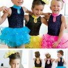 Girl BALLET TUTU DANCE DRESS PARTY DRESS style27
