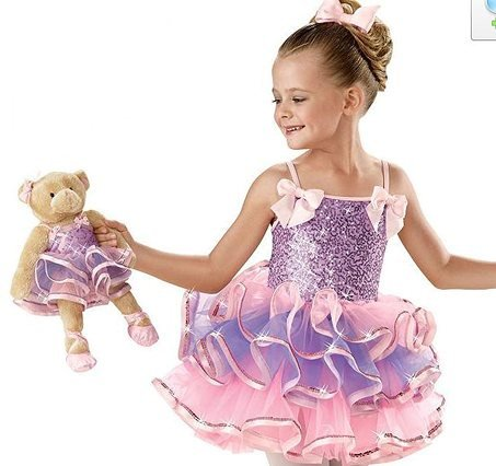 Girl BALLET TUTU DANCE DRESS PARTY DRESS style43