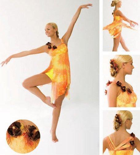 Girl BALLET TUTU DANCE DRESS PARTY DRESS style51