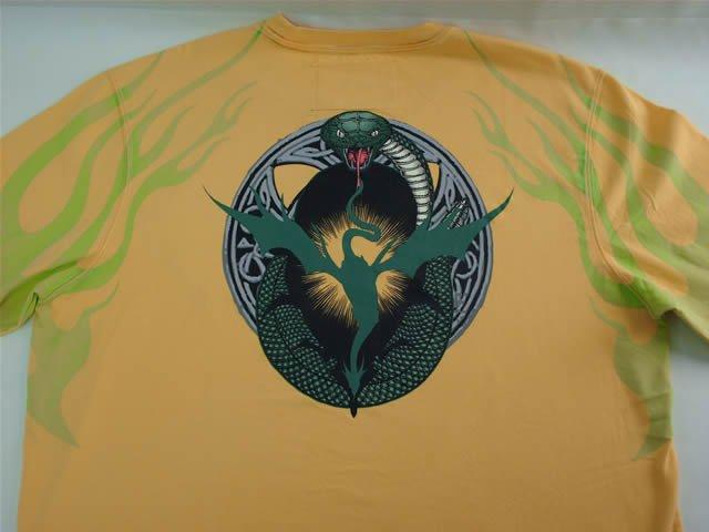 Inkslingers Cobra Flames T-shirt