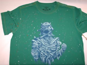 Inkslingers Green Mummy T-shirt