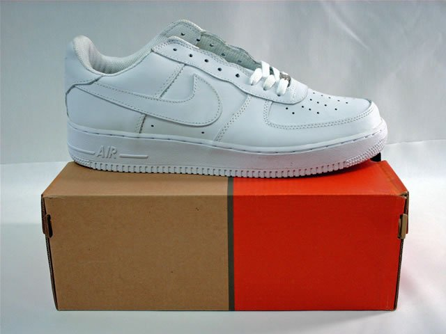 Nike Air Force One Low White 12 Pair $390
