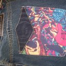 Inkslingers Evil Guitar Tatto Art Jeans