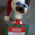 Twisted Whiskers Kitty Cat Gift Card Giver NEW