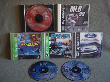 V9 PlayStation 1 Video PC Games Lot of 7