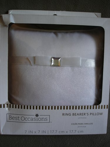 Wedding Ring Bearers Princess Pillow & Wilton Bridal Tossing Garter NEW