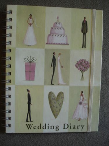 Wedding Diary Journal Hardcover Book