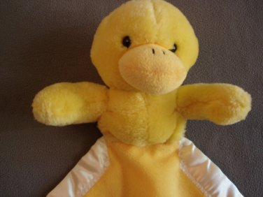 N66 Infant Baby Nursery My Banky Sarah Ducky Security Blanket