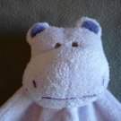 N86 Infant Baby Nursery Angel Dear Hippo Security Blanket