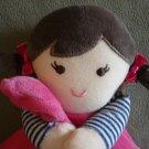 N91 Infant Baby Nursery Carters Girl Doll Love You Security Blanket